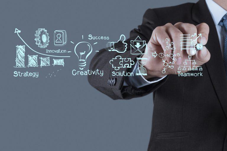 Digitalisiertes Projektmanagement mit Zusammenarbeit in virtuellen und hybriden Projektteams